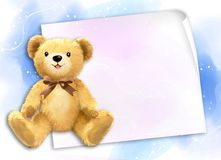 Little teddy bear Royalty Free Stock Photography