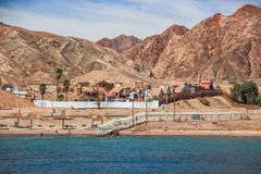 Little Texas in Eilat on the Red Sea Stock Photo