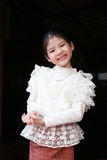 Little thai girl in a traditional costume Royalty Free Stock Photo