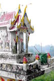 Little Thai temple Royalty Free Stock Images
