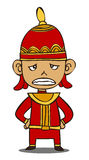 Little Thai warrior Royalty Free Stock Images