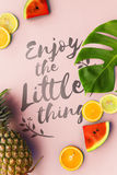 Little Thing Enjoy Being Happiness Simplicity Concept Royalty Free Stock Image