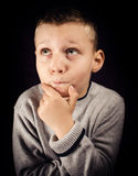 Little thinker Stock Images