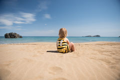 Little thinker Royalty Free Stock Photography