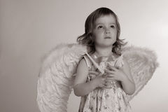 A little (three year old) girl Royalty Free Stock Image