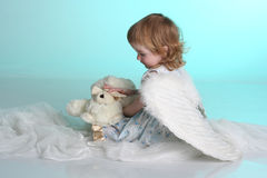 A little (three year old) girl Stock Photography