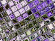 Little tiles of glass 2 Stock Image
