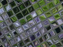 Little tiles of glass Royalty Free Stock Images