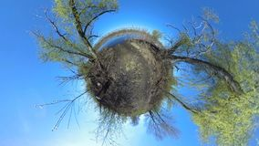 Little Tiny Planet stock footage