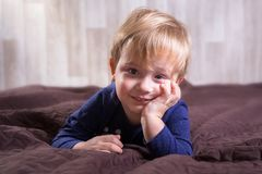 Little toddler boy portrait Royalty Free Stock Images
