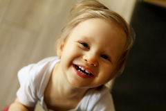 Little toddler girl Royalty Free Stock Images