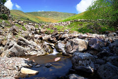 Little Tongue Gill. Below Seat Sandal Stock Photography
