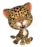 Little toon cheetah Stock Image