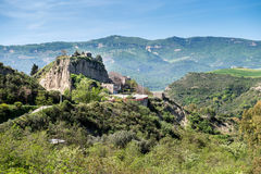Little town abandoned of aliano, basilicata. Italy Royalty Free Stock Photography