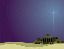 Little Town of Bethlehem Royalty Free Stock Image