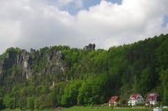 Little town Rathen Stock Images