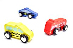Little Toy Cars Stock Image