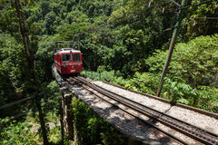 Little Train to Corcovado Royalty Free Stock Photos