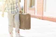 Little traveler Stock Photography