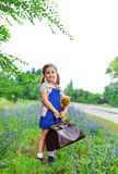 Little traveller Royalty Free Stock Photos