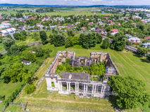 Little Trianon aerial view Royalty Free Stock Images