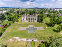 Little Trianon. Constantin Cantacuzino Palace in Romania Royalty Free Stock Photo