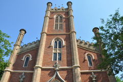 Little Trinity Anglican Church in Toronto Stock Images