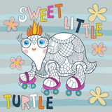 Little turtle Royalty Free Stock Photos