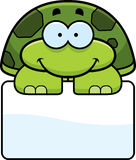 Little Turtle Sign Royalty Free Stock Images