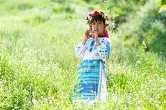 Little Ukrainian Stock Photography