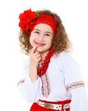 Little Ukrainian girl Royalty Free Stock Photo