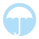 Little umbrella isolated icon Stock Photo