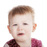 Little unhappy girl Royalty Free Stock Photography