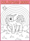 Little unicorn Royalty Free Stock Image