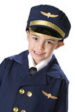 Little Uniformed Pilot Stock Images