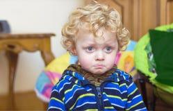 Little upset  boy Stock Photography