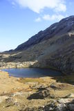Little Urdiceto lake , Pyrenees Royalty Free Stock Photography