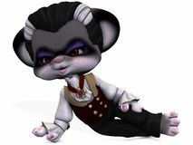 Little Vamp - Toon Figure Stock Image