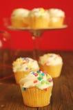 Little vanilla cake Stock Photography