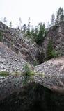 little vattenfall royaltyfria foton