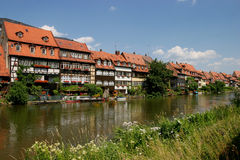 Little Venice. Bamberg - Little Venice Royalty Free Stock Photo