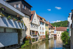 Free Little Venice And The Water Gate In Horb On The Neckar Stock Images - 64043134