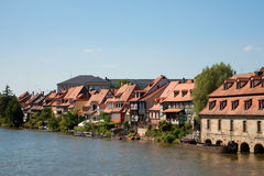 Little venice in Bamberg Royalty Free Stock Images
