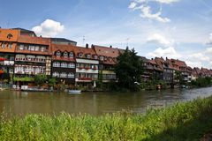 Little Venice in Bamberg Stock Photo