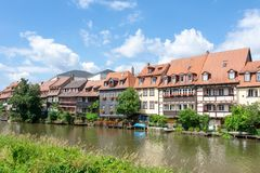 Little Venice in Bamberg Stock Image