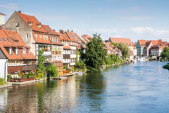 Little Venice in Bamberg Stock Images