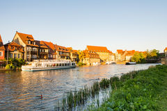 Little Venice in Bamberg Royalty Free Stock Image