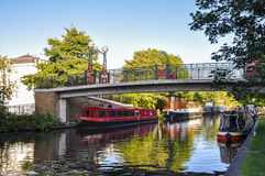 Little Venice canal on London Stock Photography