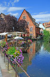 Little venice in colmar in alsace royalty free stock photography
