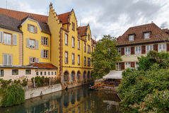 The little Venice, Colmar, France Royalty Free Stock Photography